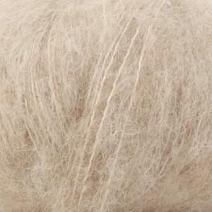 Drops Brushed Alpaca Silk Garn Unicolor 04 Ljus Beige