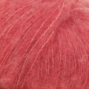 Drops Brushed Alpaca Silk Garn Unicolor 06 Korall