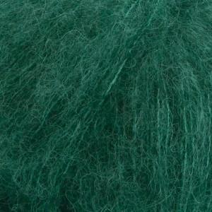 Drops Brushed Alpaca Silk Garn Unicolor 11 Skogsgrön