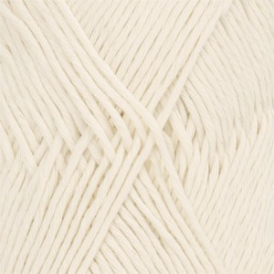 Drops Cotton Light Garn Unicolor 01 Natur