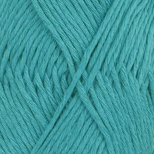 Drops Cotton Light Garn Unicolor 14 Turkos