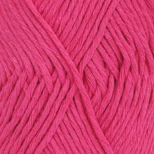 Drops Cotton Light Garn Unicolor 18 Rosa