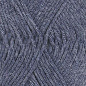 Drops Cotton Light Garn Unicolor 26 Jeansblå
