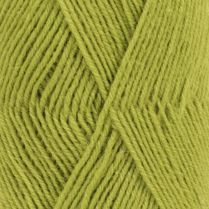 Drops Fabel Garn Unicolor 112 Äppelgrön