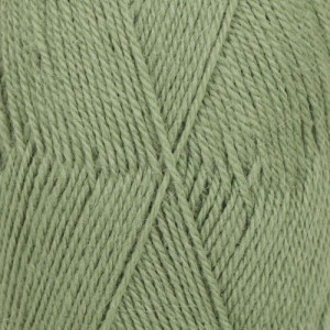 Drops Flora Garn Unicolor 15 Grön