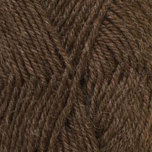 Drops Karisma Garn Unicolor 56 Mörk brun