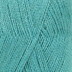Drops Lace Garn Unicolor 6410 Turkos 50g