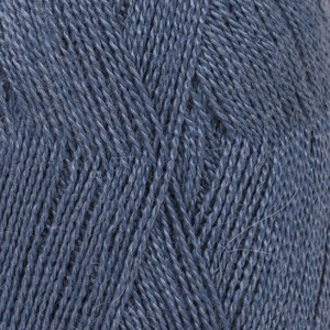 Drops Lace Garn Unicolor 6790 Kungsblå 50g