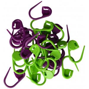 Drops Maskmarkörer 30 st. i grön och lila 2 cm