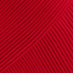 Drops Muskat Garn Unicolor 12 Röd