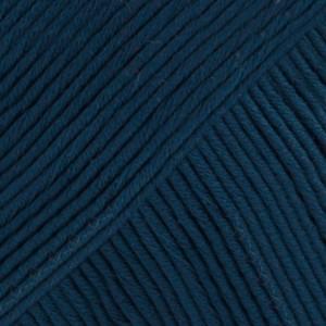 Drops Muskat Garn Unicolor 13 Marinblå