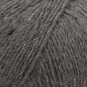 Drops Puna Garn Natural Mix 05 Mörk grå