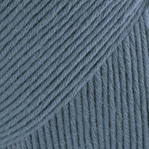 Drops Safran Garn Unicolor 06 Jeansblå