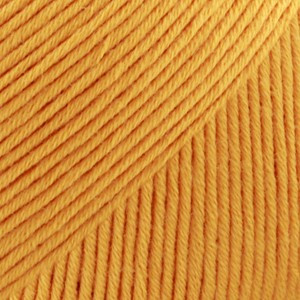 Drops Safran Garn Unicolor 11 Klar gul