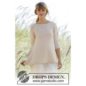 Dune by DROPS Design - Tröja Stick-opskrift strl. S - XXXL