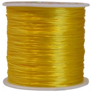 Elastisk Tråd Nylon Gul 0