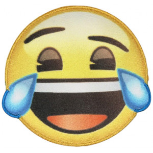 Emoji Strykmärke Smiley Tårar 6