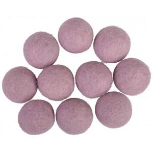 Filtkulor 20mm Lavendel V2 - 10 st.