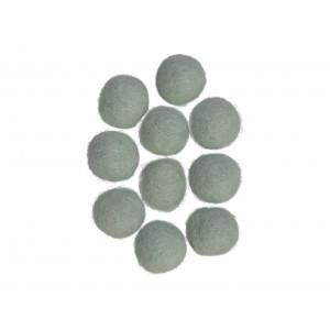 Filtkulor 20mm Ljus Mintgrön W5  - 10 st.