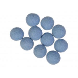Filtkulor 20mm Ljusblå BL5 - 10 st.