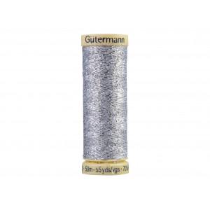 Gütermann Metallic Effekttråd 41 Silver