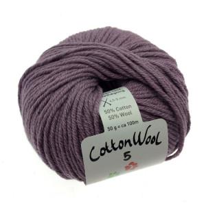 Gepard Garn CottonWool 5 Unicolor 618 Dovt Lila