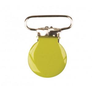 Hängselclips Rund Lime - 1 st.
