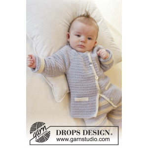 Heartthrob by DROPS Design - Baby Jacka Virk-mönster strl. 1/3 mdr - 3