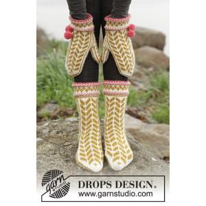 Hokey Pokey by DROPS Design - Vantar och sockar Stick-opskrift strl. 3