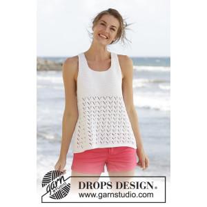Holiday Bliss by DROPS Design - Topp Stick-opskrift strl. S - XXXL