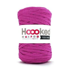 Hoooked Ribbon XL Trikågarn Unicolor SP4 Plommon