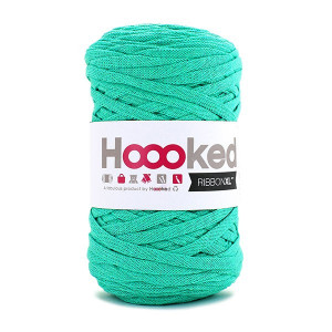 Hoooked Ribbon XL Trikågarn Unicolor SP7 Mint