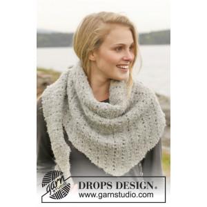Iceland by DROPS Design - Halsduk Stick-mönster 175x45 cm