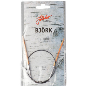 Järbo Björk Rundstickor Björk 40cm 3