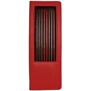 Järbo Röd Jumperstickor Aluminium Set 3-6 mm 7 storlekar
