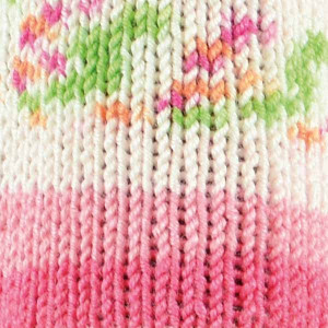 Järbo Soft Raggi Garn Print 31204 Rosa