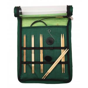 KnitPro Bamboo Ändstickorset Bambu 60-80-100 cm 3-5 mm 5 storlekar Sta
