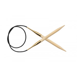 KnitPro Bamboo Rundstickor Bambu 100cm 6