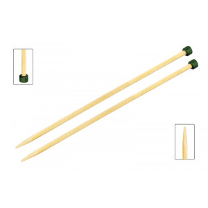 KnitPro Bamboo Stickor / Jumperstickor Bambu 33cm 10