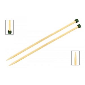 KnitPro Bamboo Stickor / Jumperstickor Bambu 33cm 6