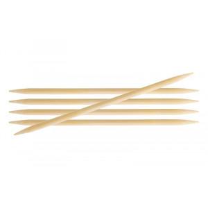 KnitPro Bamboo Strumpstickor Bambu 15cm 3