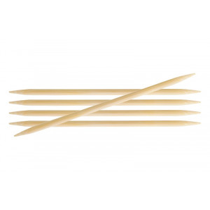 KnitPro Bamboo Strumpstickor Bambu 20cm 2