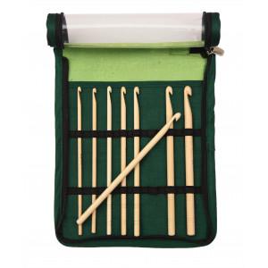 KnitPro Bamboo Virknål Set Bambu 15