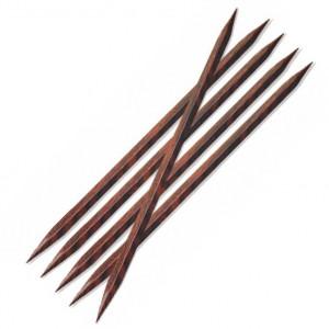 KnitPro Cubics Strumpstickor Trä 20cm 6