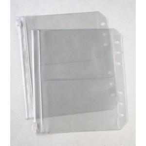 KnitPro Tvådelade Plastfickor till Förvaringspärm - 2 st.