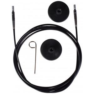 KnitPro Wire / Kabel till Ändstickor 126cm