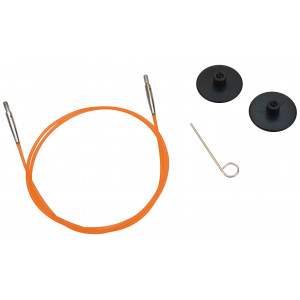 KnitPro Wire / Kabel till Ändstickor 56cm