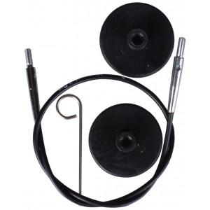 KnitPro Wire / Kabel till Korta Ändstickor 20cm