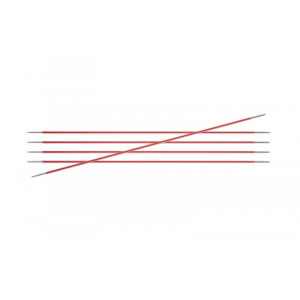 KnitPro Zing Strumpstickor Aluminium 15cm 2