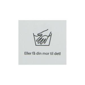 Label Handtvätt Vit - 1 st.